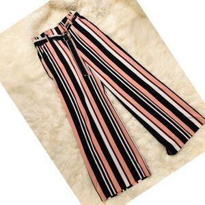 NY&CO Palazzo Striped Pants